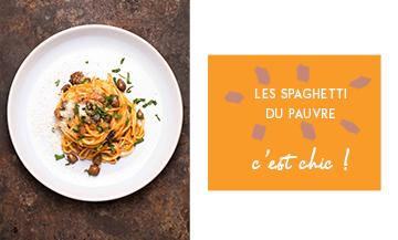 Ultra snob : les spaghetti Chitarra