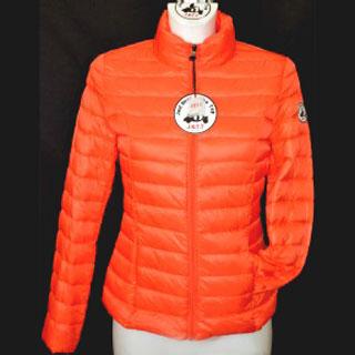 Veste doudoune femme orange