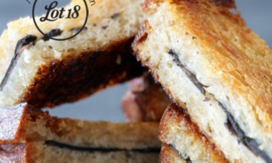 The sandwich with truffles by Michel Rostang