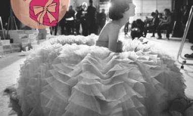 Les coulisses du défilé Dior dans un it book