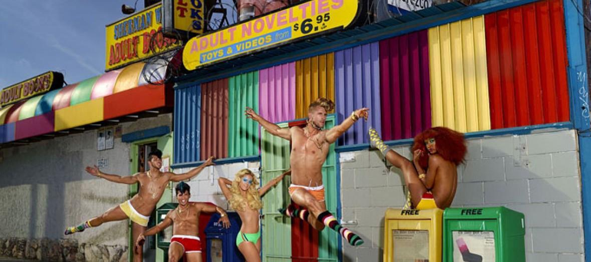 La Boutique Ephemere De La Chaussette Sexy Et Arty 2
