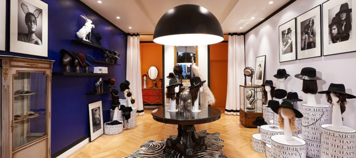 La Boutique Ephemere Des Chapeaux Fashion By Maison Michel 1