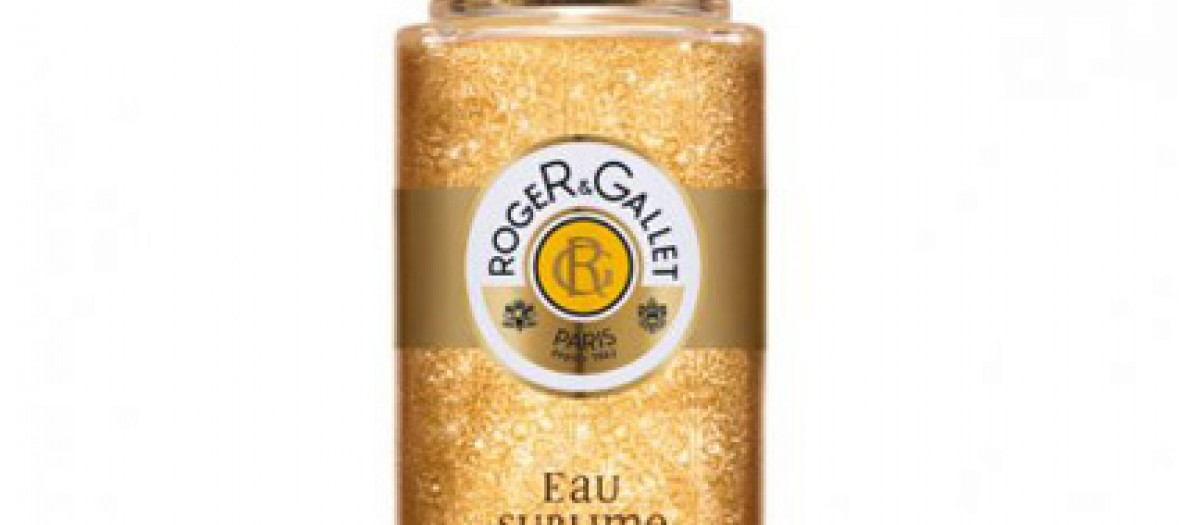 Eau Fraiche Pailletee Sublime Or De Roger Gallet