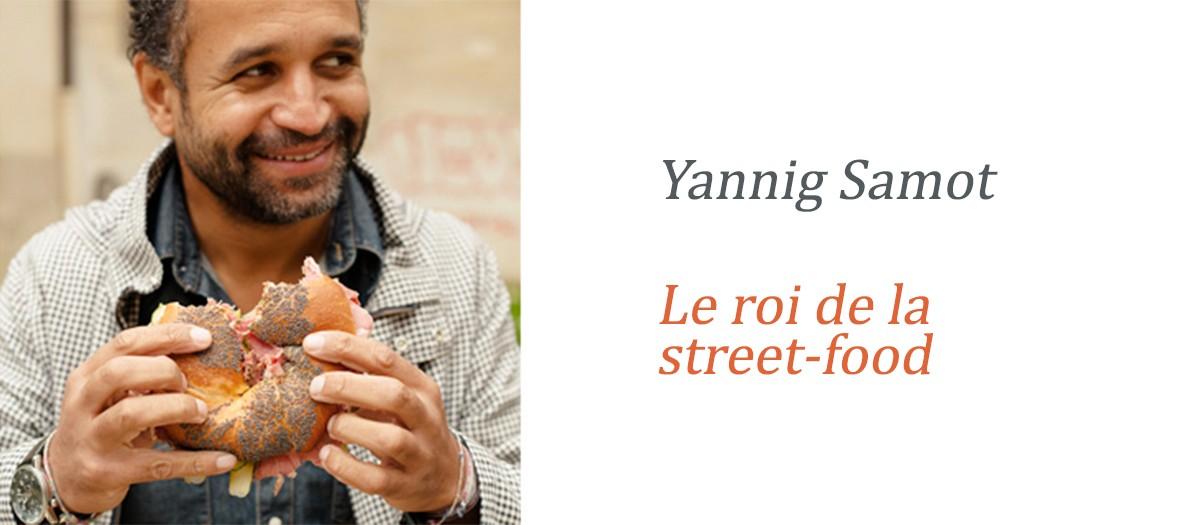 Yannig Samot : ses bonnes adresses street-food