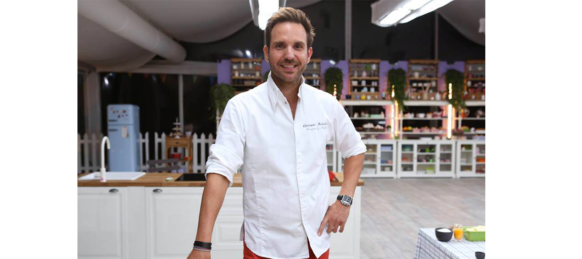 Le chef Christophe Michalak