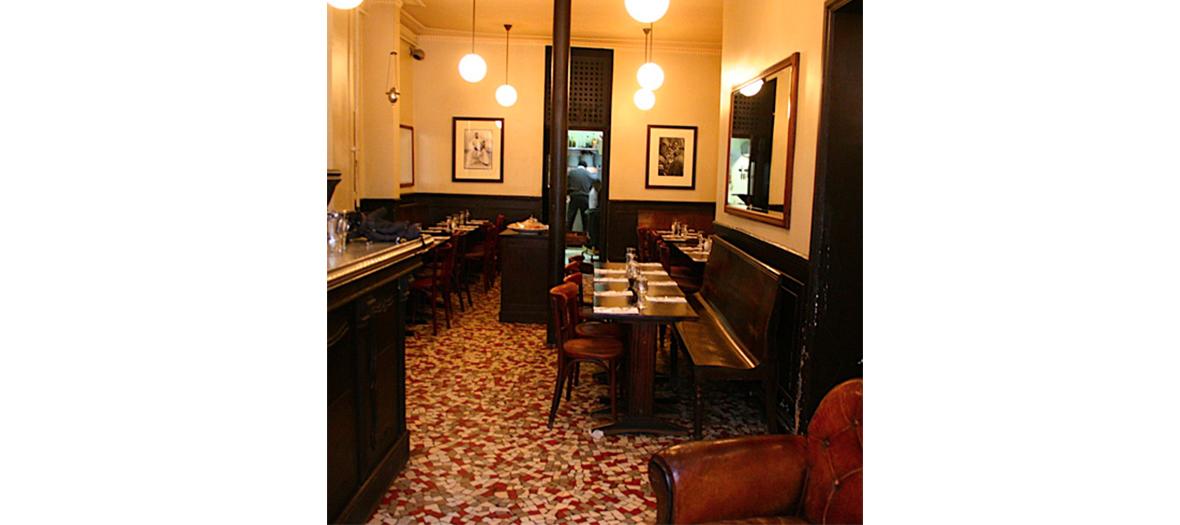 Salle de restaurant du Martel