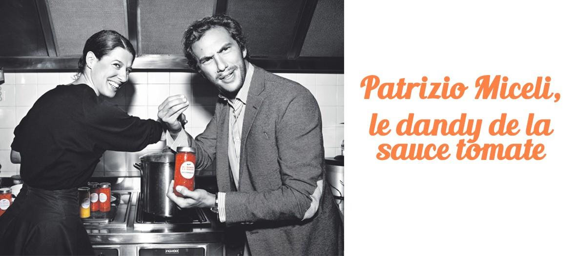Patrizio Miceli, le dandy de la sauce tomate