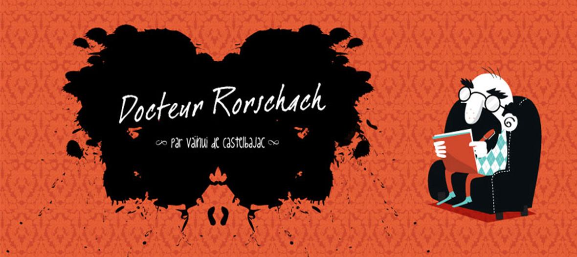 Dr. Rorschach, la BD de Vainui de Castelbajac