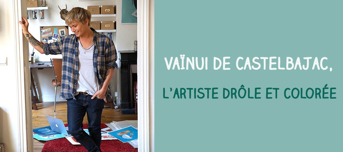 Encounter with Vainui de Castelbajac, comic book artist