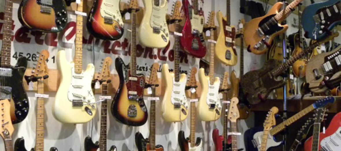 guitare collection pour chiner des guitares vintage. Black Bedroom Furniture Sets. Home Design Ideas