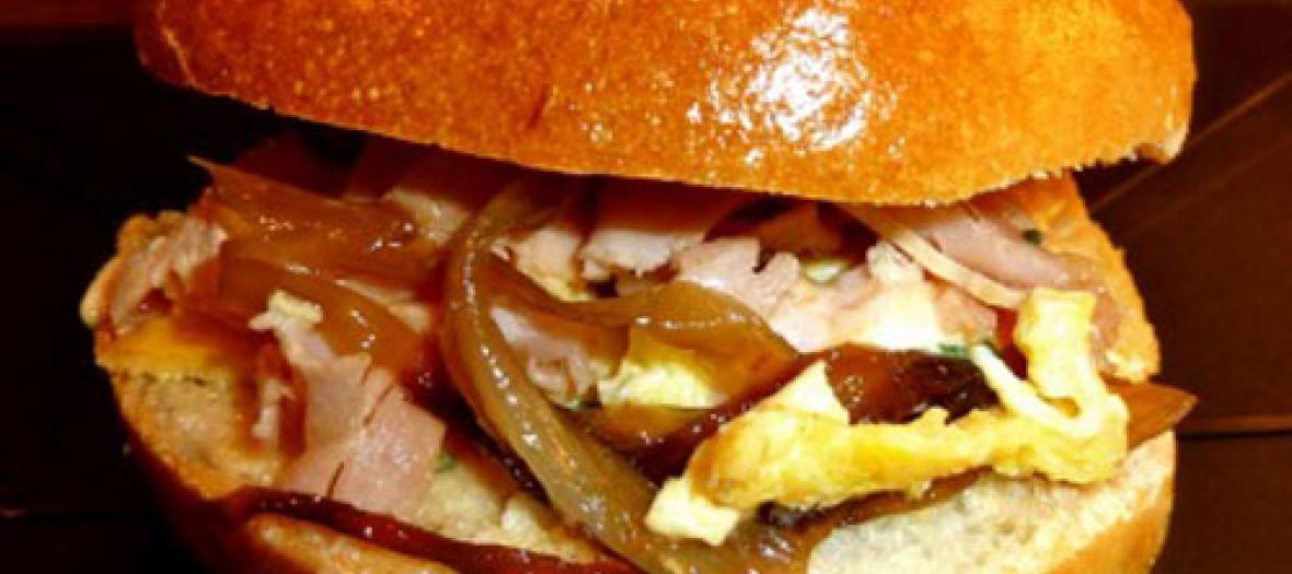 Restaurant Spok Montorgueil Sandwich Le Egg Bacon Epkp9y