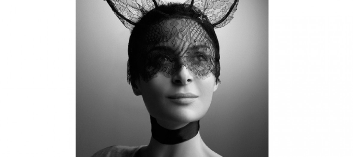 Laetitia Crahay Heidi Rabbit Veil