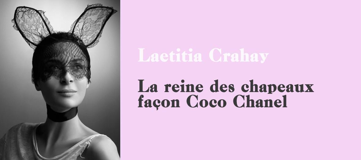 La créatrice Maison Michel Laetitia Crahay