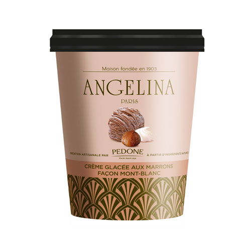 Le Chocolat Chaud Dangelina Version Glacee