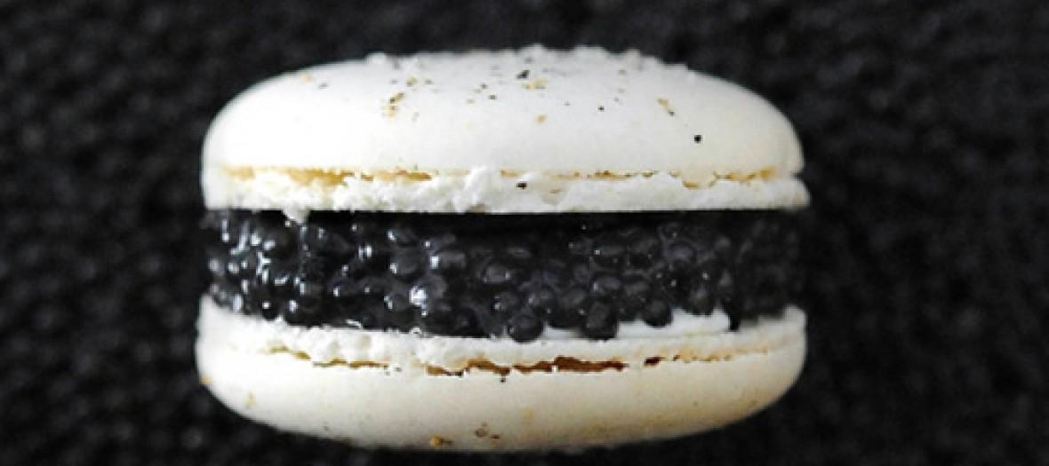 Luxe Le Macaron Au Caviar