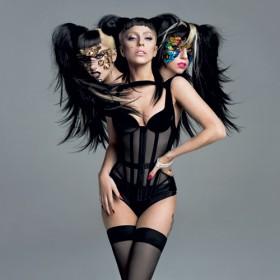 Lady Gaga Et Kate Moss Les