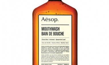 Aésop invente le bain de bouche stylé