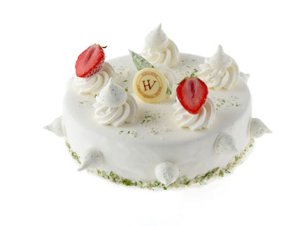 The frosty summer cake by Hugo & Victor