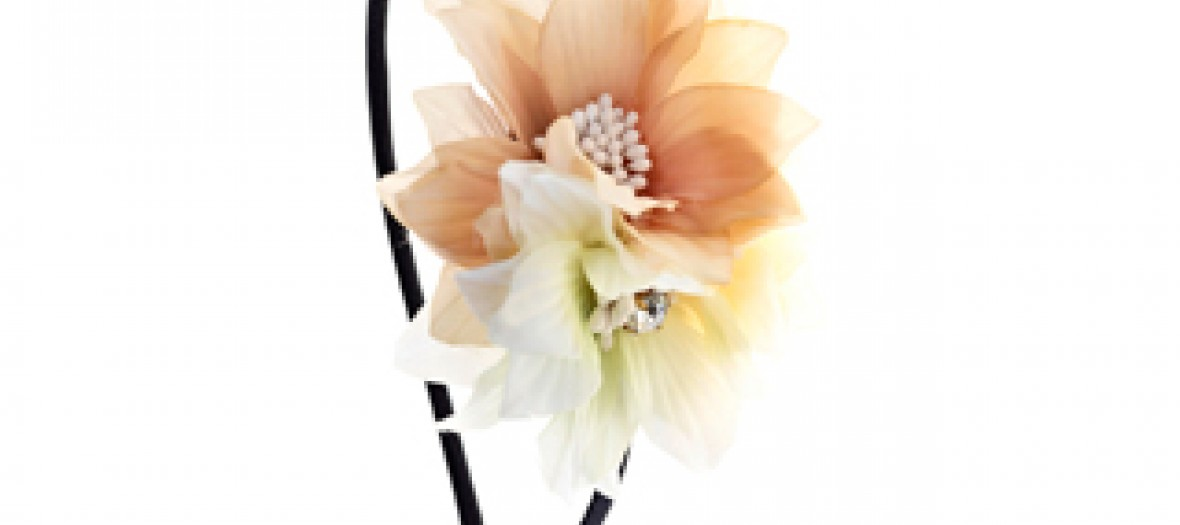 16 Orange Flower Headband 5 00 Gbp 6 95 Euro 27 90 Pln