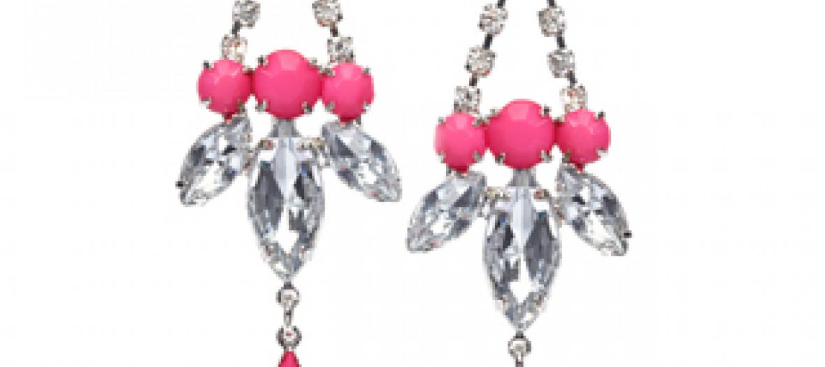 19 Pink Statement Earrings 5 00gbp 6 95euro 27 90pln