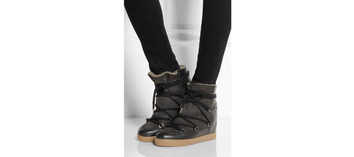 Boots collection hiver par Isabel Marant