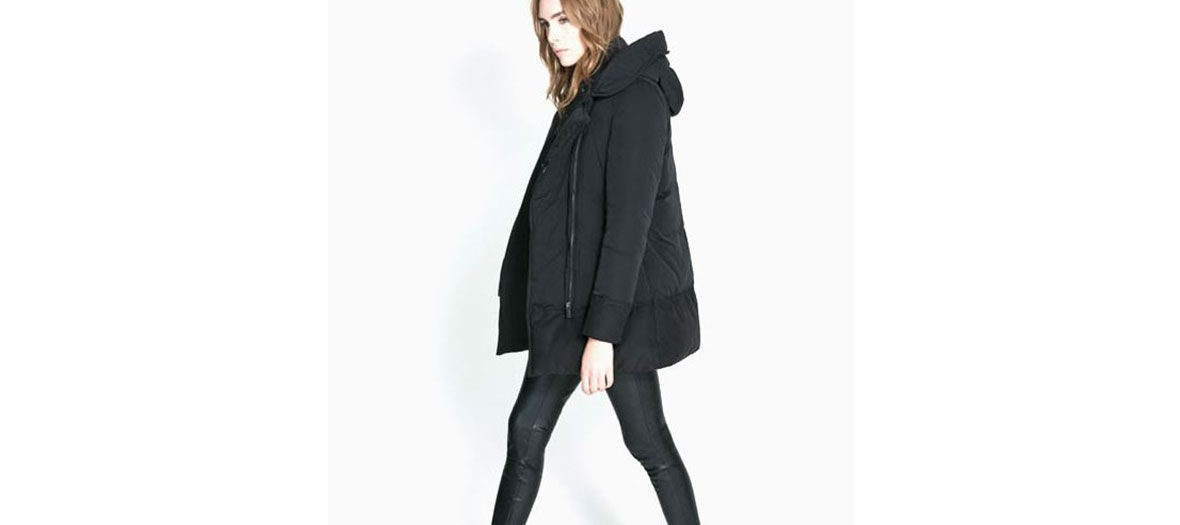 blouson hiver Zara