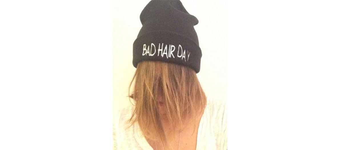 Bad hair day beanie by Bea