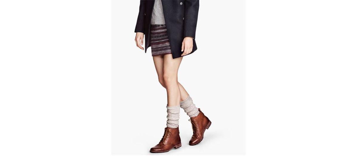 Chaussettes montantes hiver H&M