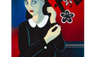 L'expo des peintures de Marjane Satrapi