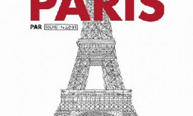 The book of Paris vu by Robinson