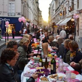 Un Pique Nique Dans Les Rue