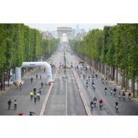 Une Course De Velib Sur Les Champs
