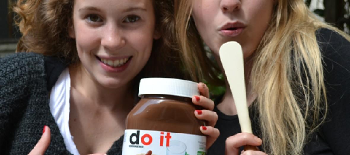 Customisez Votre Pot De Nutella