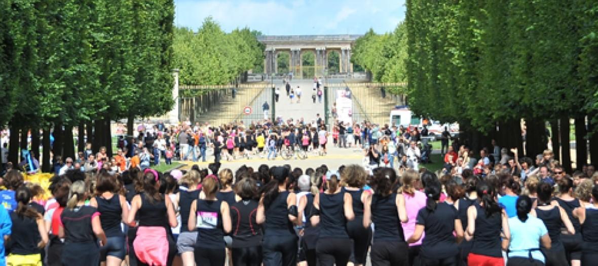 Une Course De Princesses A Versailles
