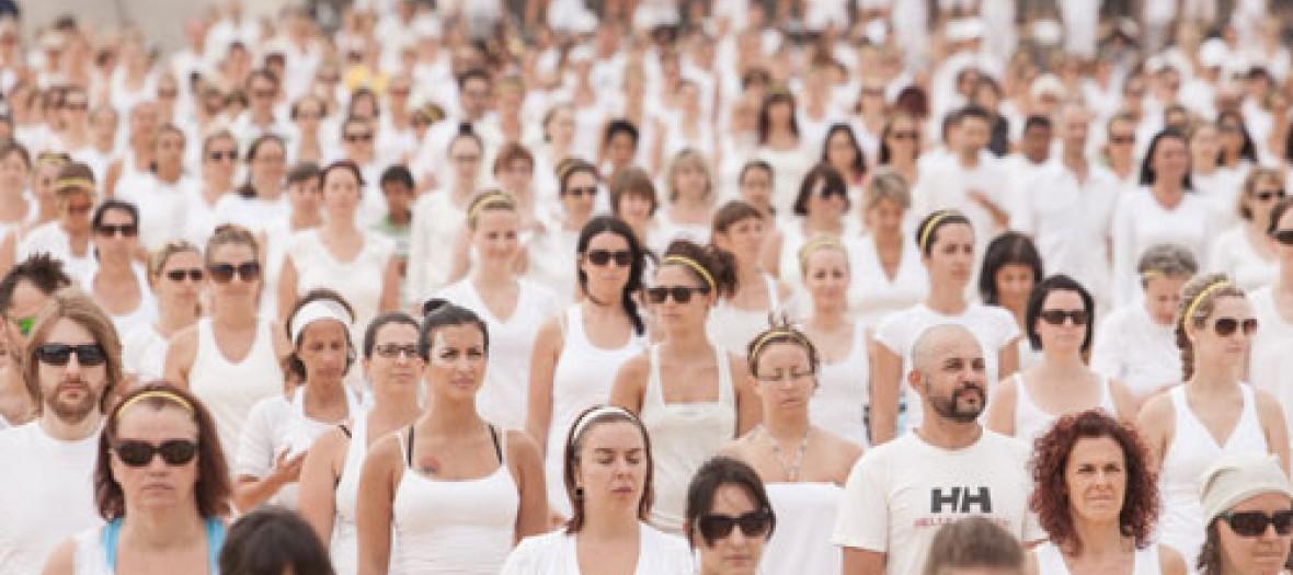 Un Cours De Yoga A Loeil Au Grand Palais