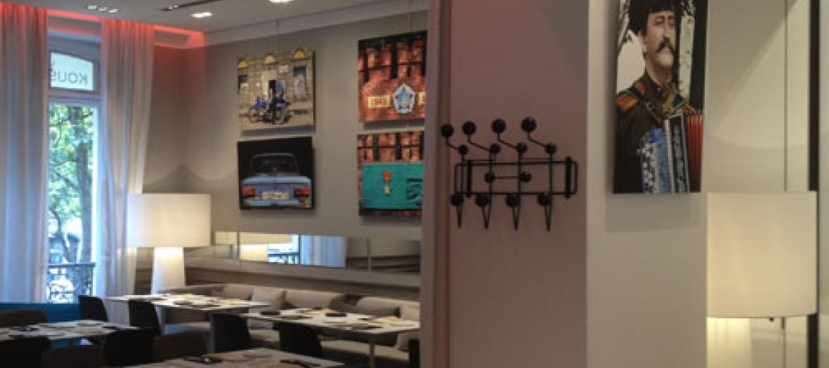 Apero Design Chez Kusmi Tea 500