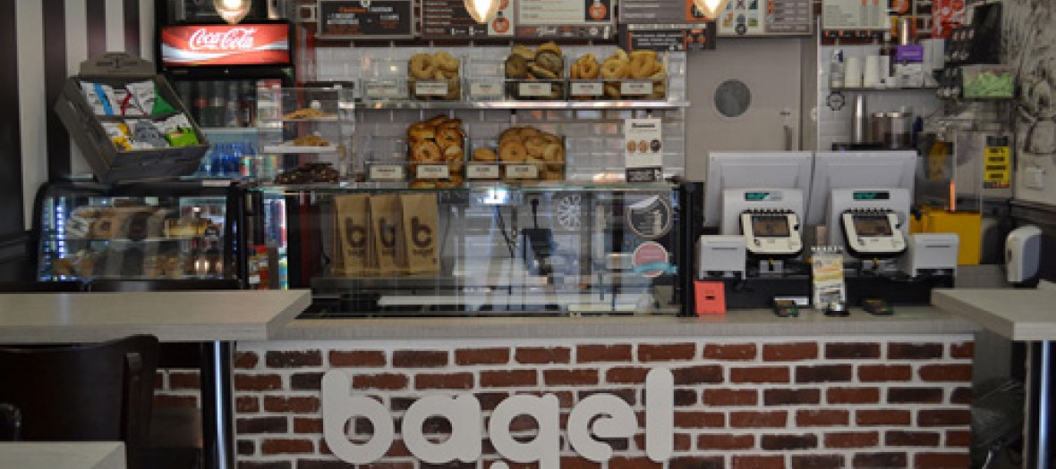 Bagel Corner, comptoir