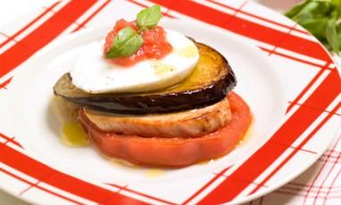 Veal scallopine alla parmiggiana
