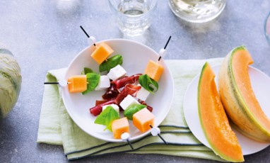 Bouchees Aperitives Au Melon De Nos Regions