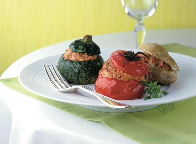 The petits farcis or stuffed veggies of alain ducasse for Alain karsenty cuisine