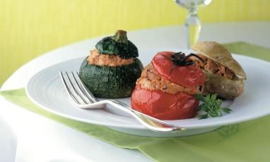 "The ""petits farcis"" or stuffed veggies of Alain Ducasse"