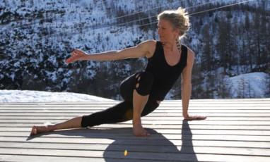 Le festival de yoga à Val d'Isère