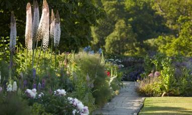 Lovely break dans un jardin anglais
