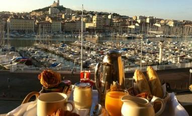 Hôtel avec vue… sur le Vieux Port
