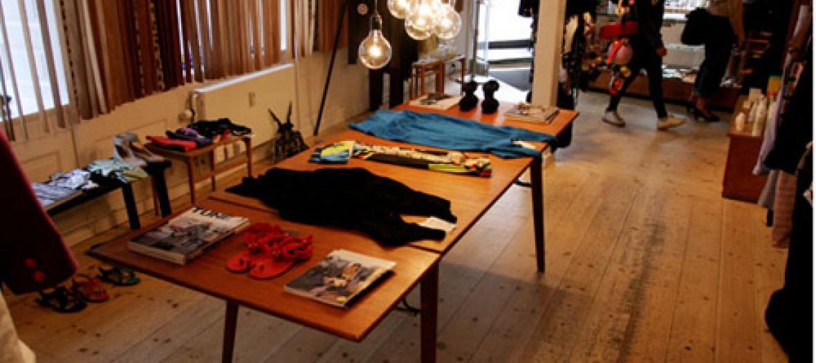 Une Boutique Mode Tres Pointue Henrik Vibskov