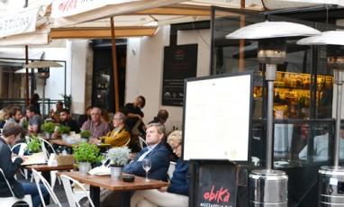 Un tiramisù démentiel au bar à mozza Obikà