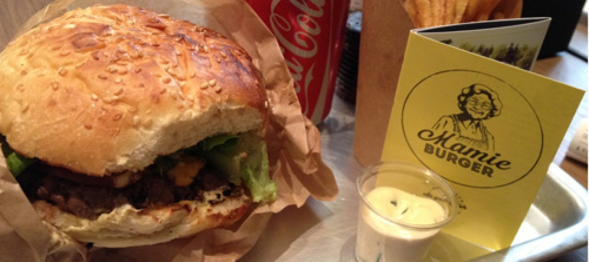 Mamie Burger Le Fast Food Facon Grand Mere