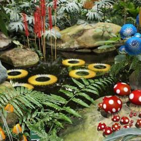 Flanerie Arty Dans Un Jardin Enchante