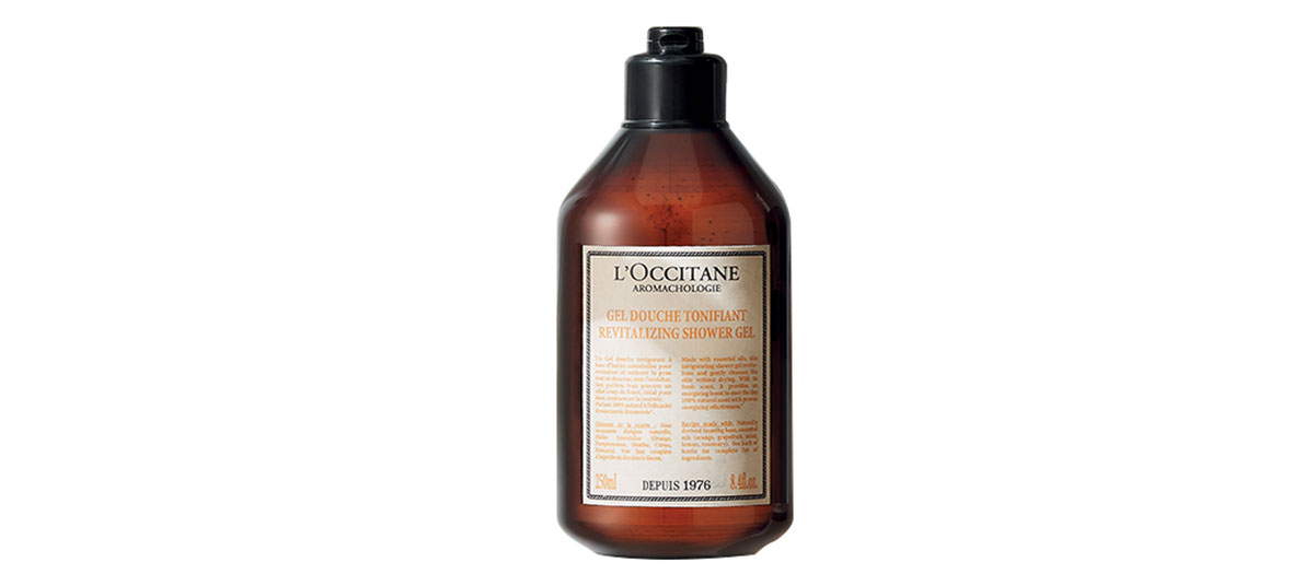 revitalizing shower gel l'Occitane