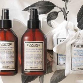 produits essentiels par l'Occitane pour une happy routine